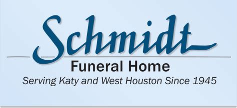 schmidt funeral home katy tx