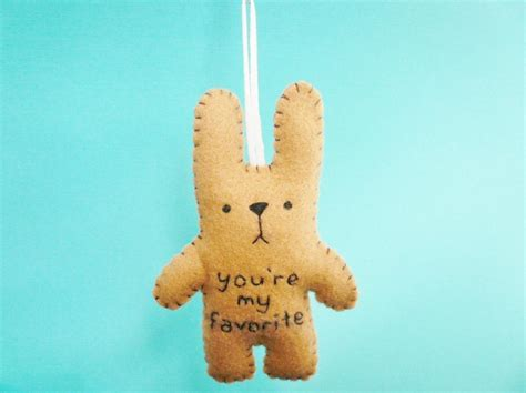 Reserved Listing Y2018 01 reserved listing for felt stuffed animals 01 bunny you re my favorite on