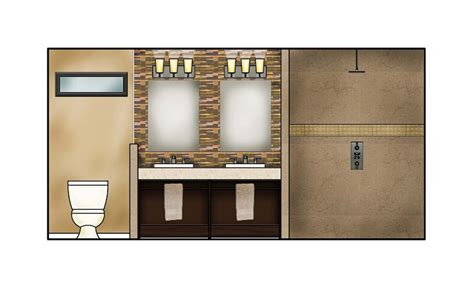 bathroom elevation drawings urinals and squat toilet cad blocks in plan frontal and side elevation view ada