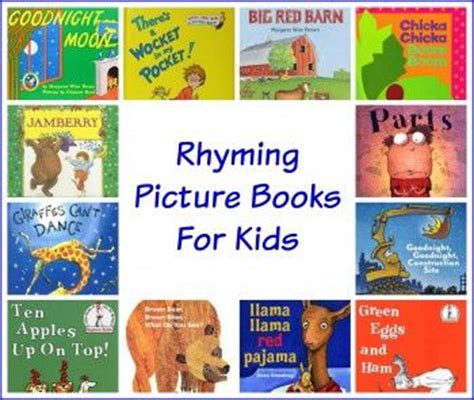 best rhyming picture books 14 best images about read alouds and books for children on