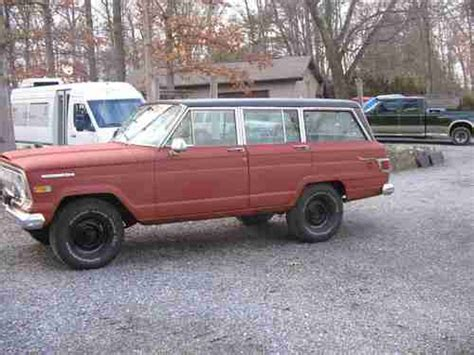 1970 jeep wagoneer for sale buy used 1970 jeep wagoneer 4x4 with lock out hubs in