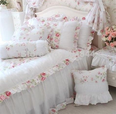 Cotton Bed Sheet Set Sprei Shabby Chic 146 best images about decorating ideas on