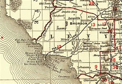 rosewood florida map education in levy county florida