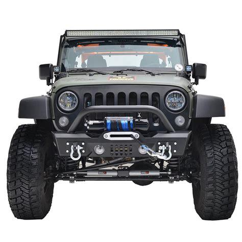 07 16 jeep wrangler jk s3 stubby front bumper