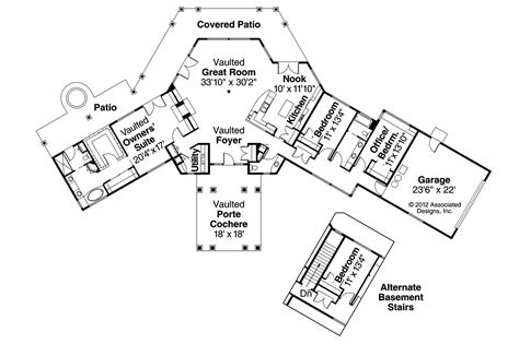prairie style floor plans prairie style house plans aberdeen 10 428 associated