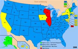 Usa Concealed Carry Map by Sample Test Virginia Concealed Handgun Permit Star
