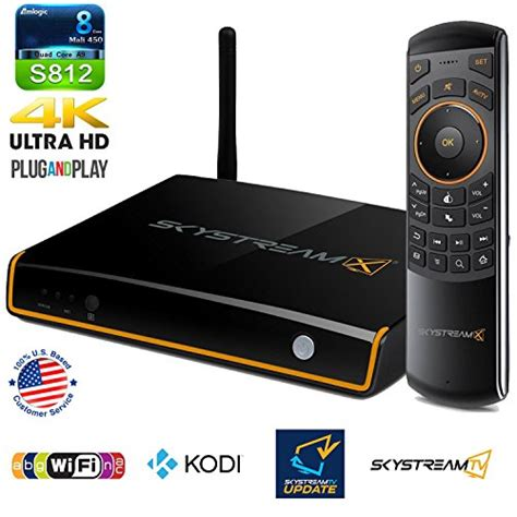 Tv Tuner Android Kodi skystream x5 android tv box with built in tv tuner dvr