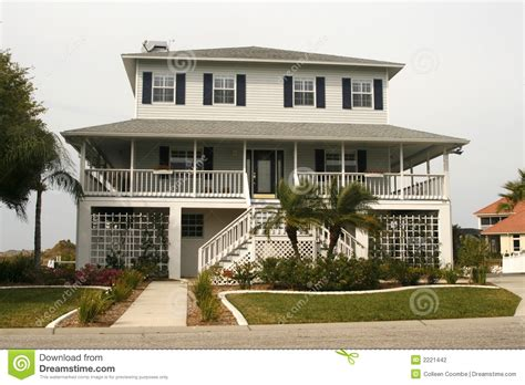 Style Homes Plans Key West Style Home Stock Photography Image 2221442