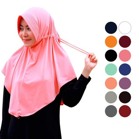 Jilbab Serut Polos buy 1 get 1 free jilbab adiba serut jokowi jilbab