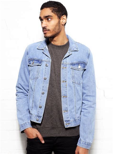 light blue denim jacket mens cheap denim jacket coat nj