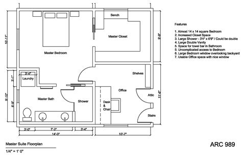 master suite floor plan attic conversion designed by margaret holden master
