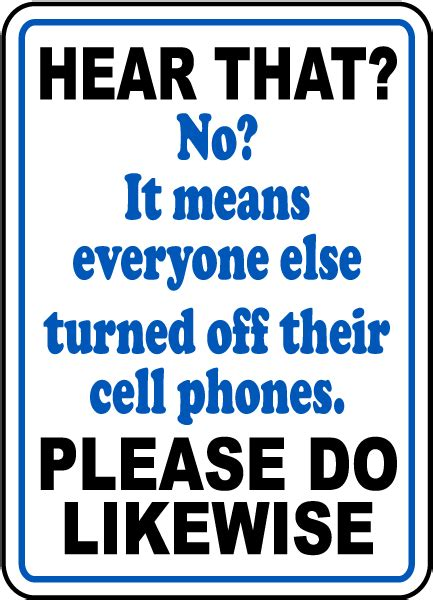 printable please turn off cell phones sign
