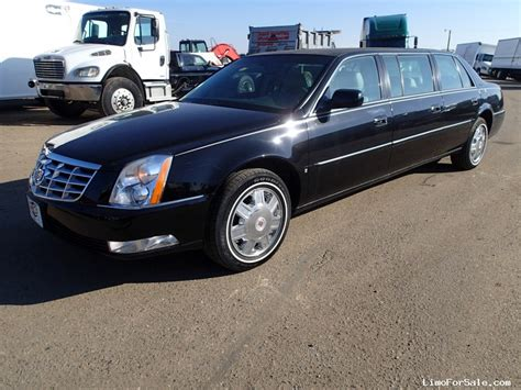 Funeral Limo by Used 2008 Cadillac Dts Funeral Limo Accubuilt Rice
