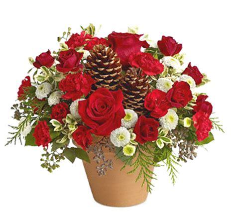 christmas flowers gift bouquet at 1 800 florals florist