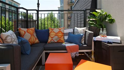 Top Five Design Tips To Maximize The Impact Of Your Condo Condo Patio Furniture