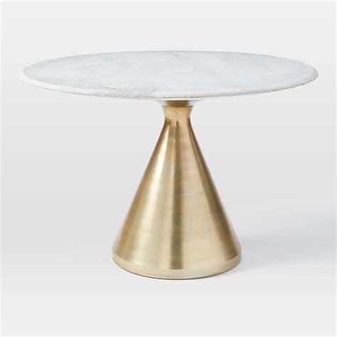 Dining Room Pedestal Tables silhouette pedestal dining table west elm