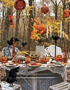 halloween party decoration ideas 60 awesome outdoor halloween party ideas digsdigs