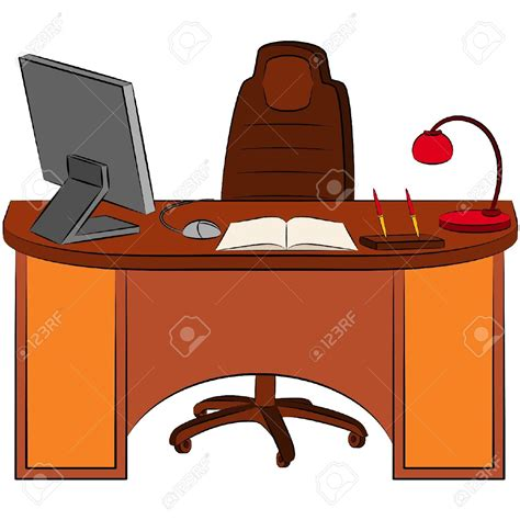 bureau clipart office desk clipart clipartxtras