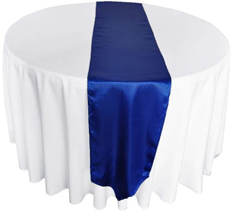 royal blue table runners royal blue satin table runners