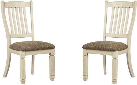 two tone dining chairs bolanburg two tone dining side chair set of 2 from