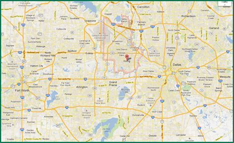 printable map dfw metroplex map of dallas fort worth best of roundtripticket me