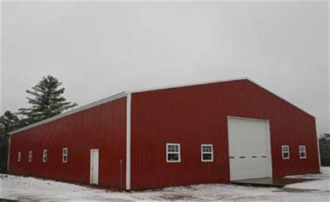 Large Sheds Garages by Types Of Metal Buildings Steel Building Garages