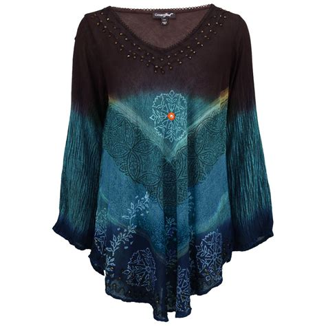 Longslevee Tunic earth sky sleeve tunic the rainforest site