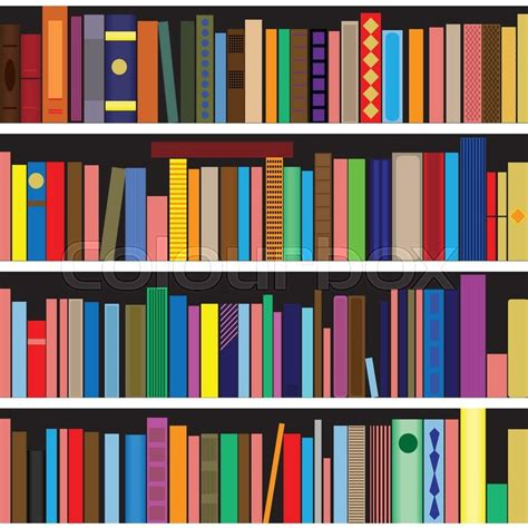 books vector seamless texture vertically and horizontally
