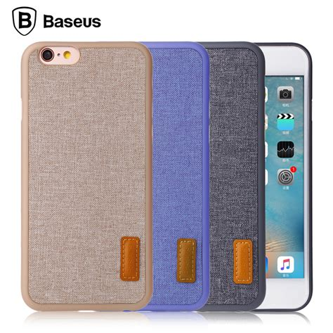 baseus fresh artistic phone for iphone 6 6s 6 plus 6s plus protective back cover cases