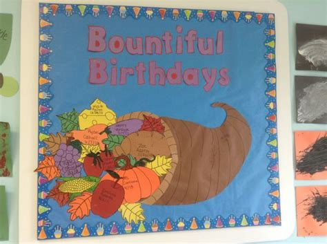 birthday themes for november birthday board thanksgiving and birthdays on pinterest