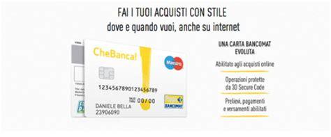 Bpercard Banco Di Sardegna by Carta Bancomat Che Banca Convenienza E Qualit 224 Servizio