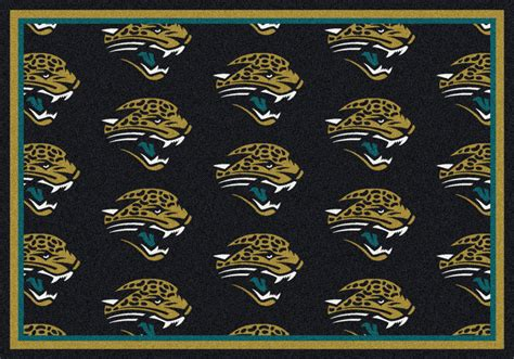 Team Rugs by Milliken Area Rugs Nfl Repeat Rugs 09044 Jacksonville