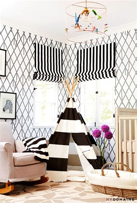 black and white nursery wallpaper decor archives page 2 of 16 little luxury list