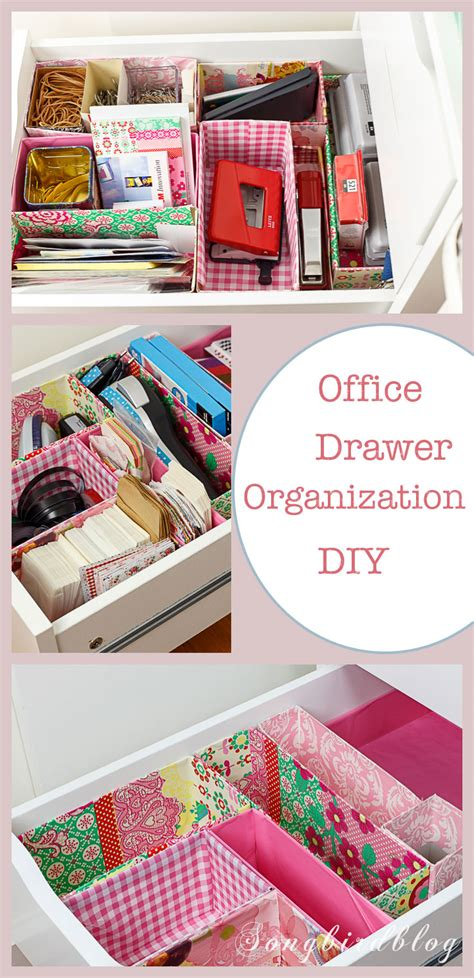 diy drawer organizer nifty office drawer organizing diy with free materials