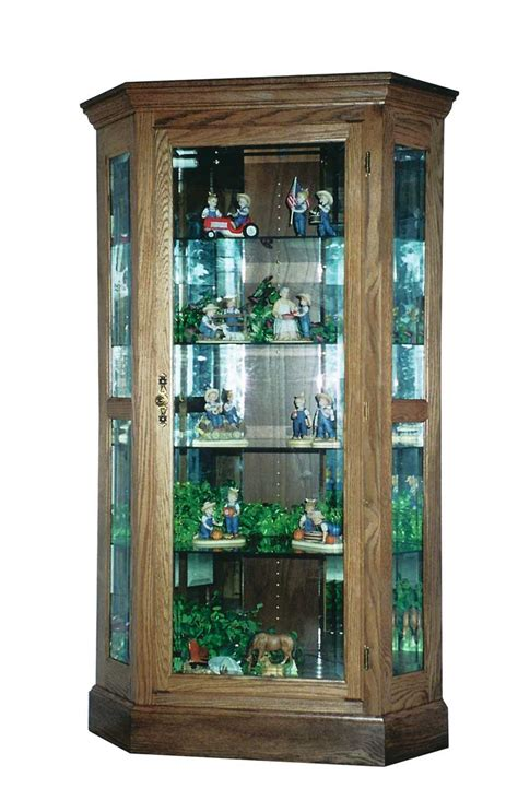 corner curio cabinet for home office