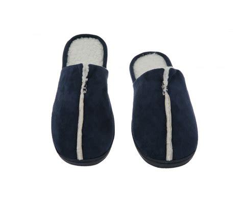 memory foam house slippers men s slipper suede fleece