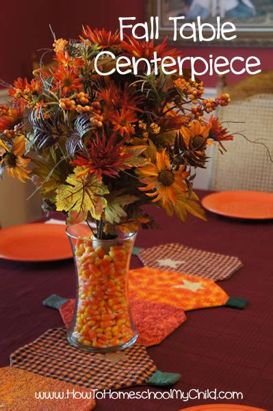 fall centerpieces for tables 50 fall activities for how to homeschool my child