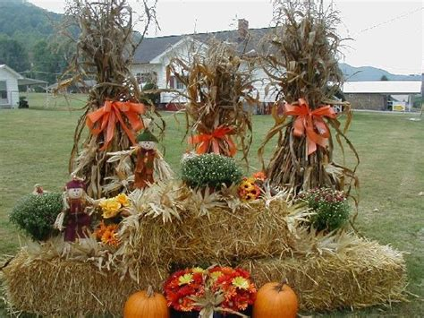 fall hay decorations 1975 best images about decorating for fall on