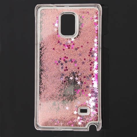 Fashion Water Gliter For Samsung Galaxy A710 glitter bling colourful liquid cover for