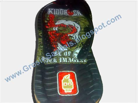 Baru Sandal Wedges Wanita Motif Bunga Sdw66 2 agen sandal grosir sandal jual sandal pabrik sandal