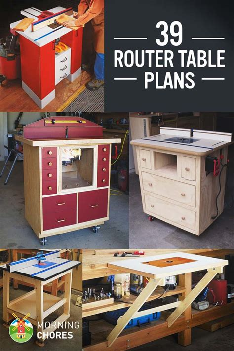 39 free diy router table plans ideas that you can easily