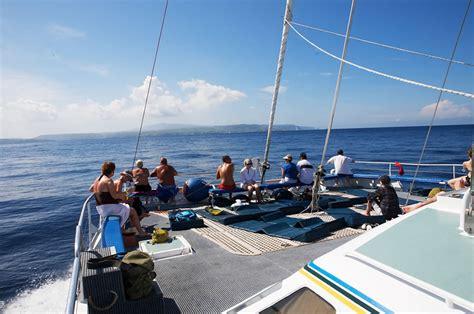 catamaran cruise in bali aristocat sailing catamaran cruise bali hai