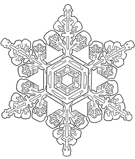 snowflakes coloring book books snowflake designs dover publications sle let s