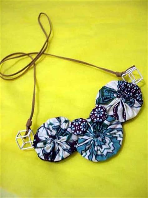 Kalung Batik Bross 31 30 aneka kreasi aksesoris dari kain perca ide dan