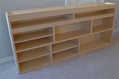 Plywood Shelf by Handmade Storage Shelf By Clark Wood Creations