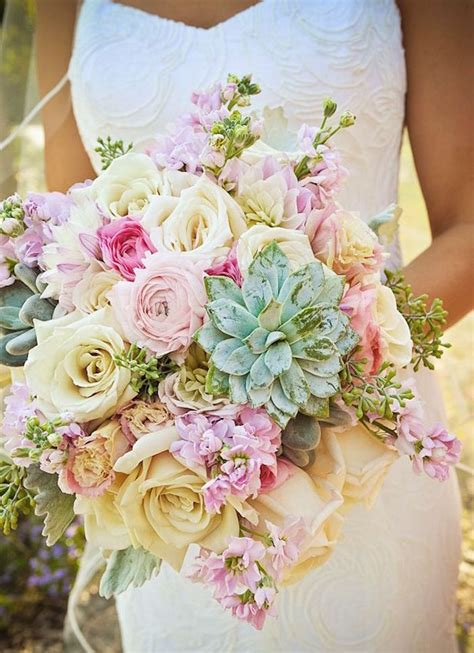 25 swoon worthy summer wedding bouquets tulle chantilly wedding