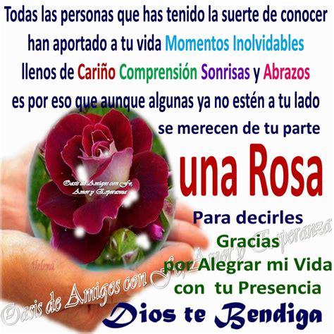 imagenes de buenos dias fe y esperanza oasis de amigos con fe amor y esperanza una rosa para ti