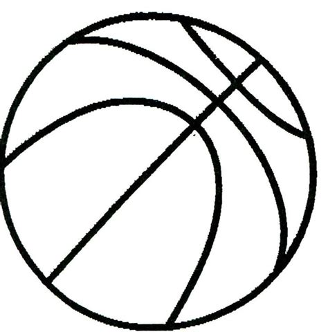 free printable drawing templates printable basketball pictures cliparts co