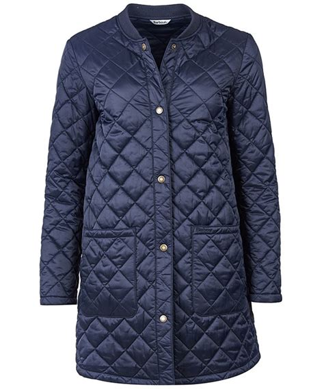 Womans Quilted Jacket by S Barbour Summer Border Quilted Jacket