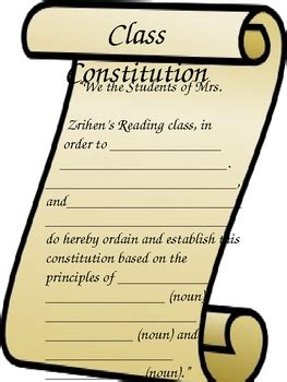 class constitution template images templates design ideas